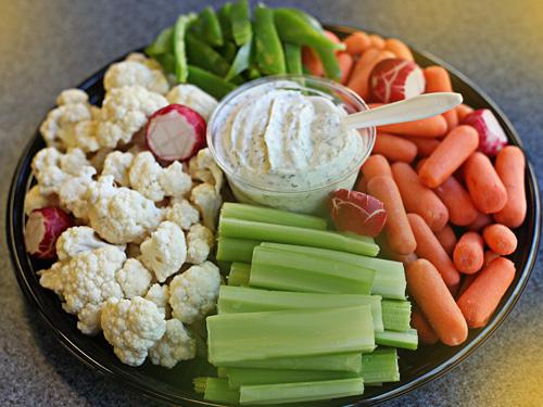 Em's Veggie Platter