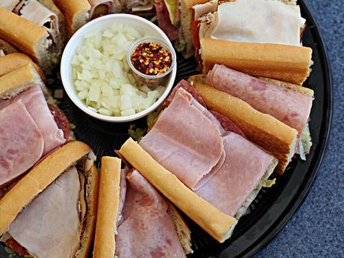 Em's Original Submarine Sandwich Platter