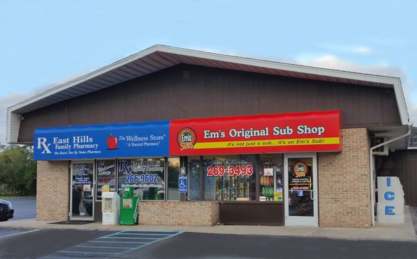 Em's Sub Shop Scalp Avenue, Richland, Johnstown PA
