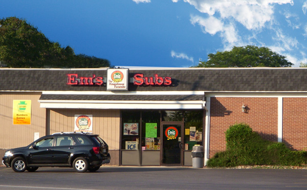Em's Sub Shop, Goucher Street, Westmont, Johnstown PA