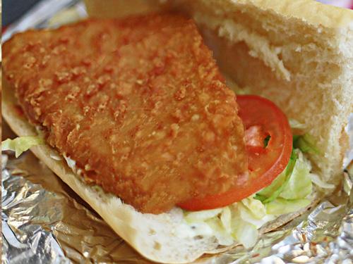 Em's Haddock Fillet Sandwich